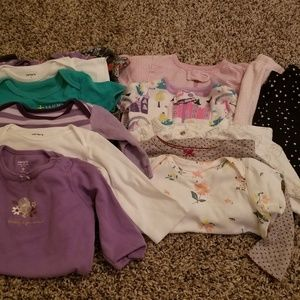 17 pieces lot for 3-9 months
